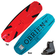 O'Brien Format Wakeboard With Link Bindings