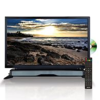 """Widescreen HD LED TV/DVD Combo, 24"""", with External Speaker"""