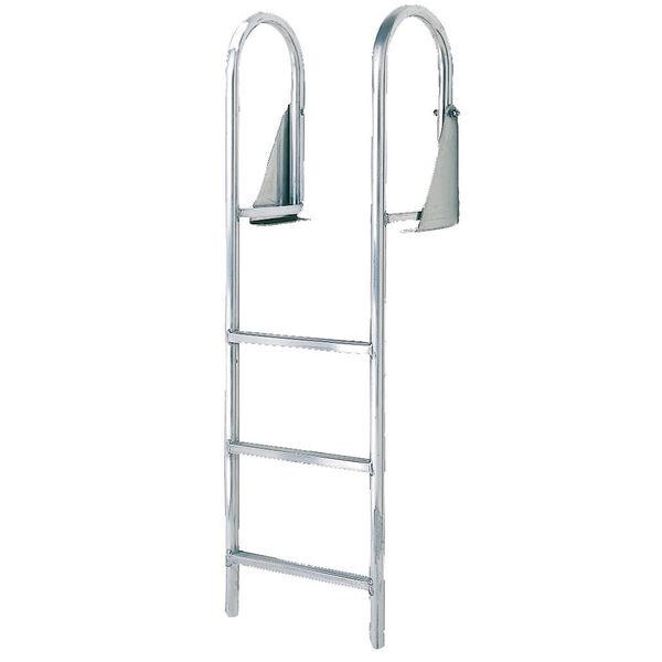 International Dock Flip-Up Dock Ladder, 4-Step