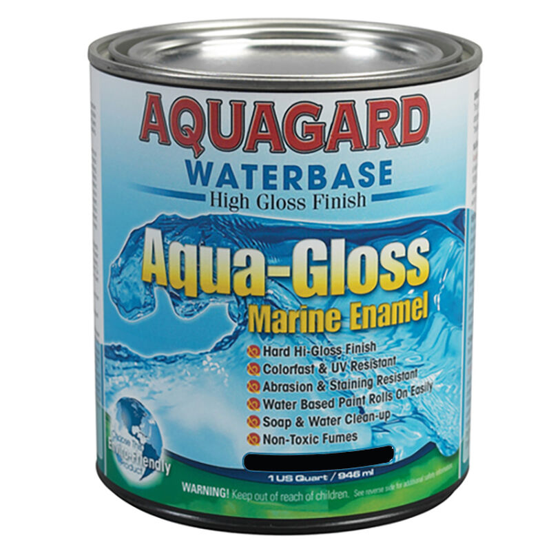 Aquagard Aqua-Gloss Waterbase Enamel, Quart image number 1