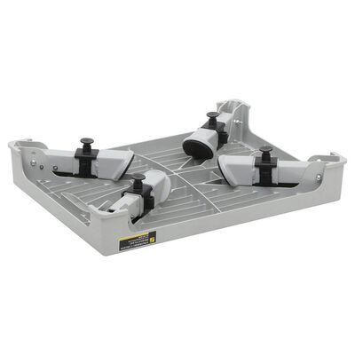 Heavy-Duty Adjustable-Leg Platform Step Stool