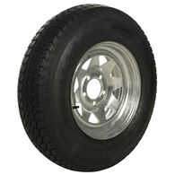 Tredit H188 205/75 x 15 Bias Trailer Tire, 5-Lug Spoke Galvanized Rim
