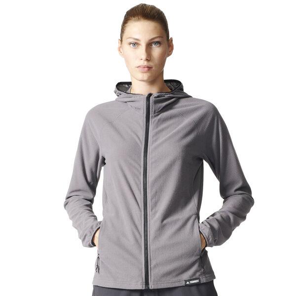Adidas Women's Terrex Tracerocker Hooded Fleece Jacket