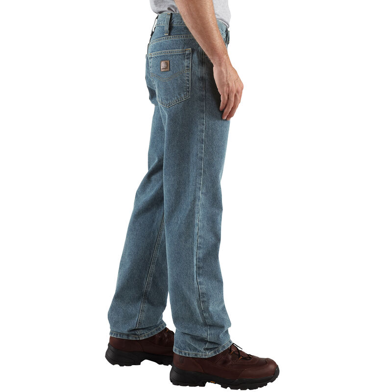 Carhartt Men's Relaxed-Fit Straight-Leg Jean image number 4