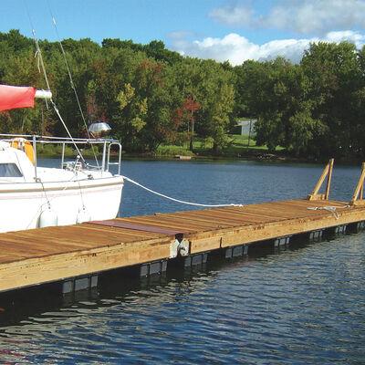"Dock Float Black 24""x36""x12"""