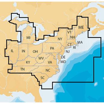 Navionics Electronic Chart, East US