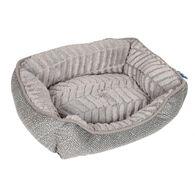 Best in Show Cuddler Dog Beds, 20'' x 16'' x 6'', Gray