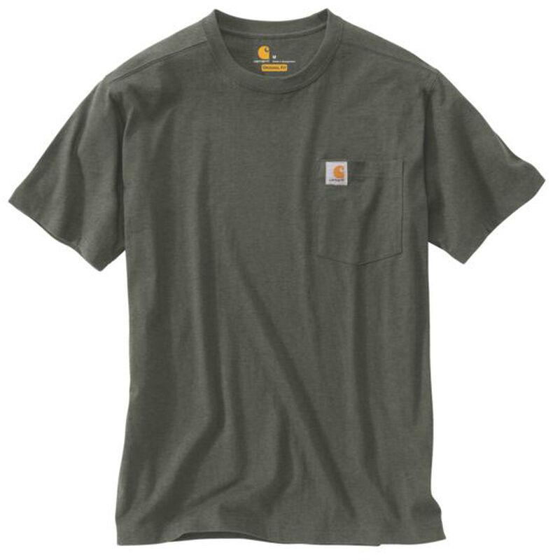 Carhartt Men's Maddock Pocket Short-Sleeved T-Shirt image number 11