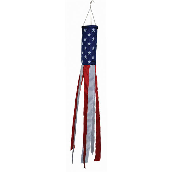 Stars and Stripes Windsock 48""