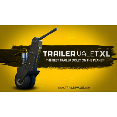 "Trailer Valet XL Trailer Dolly, 2-5/16"" Ball Mount"