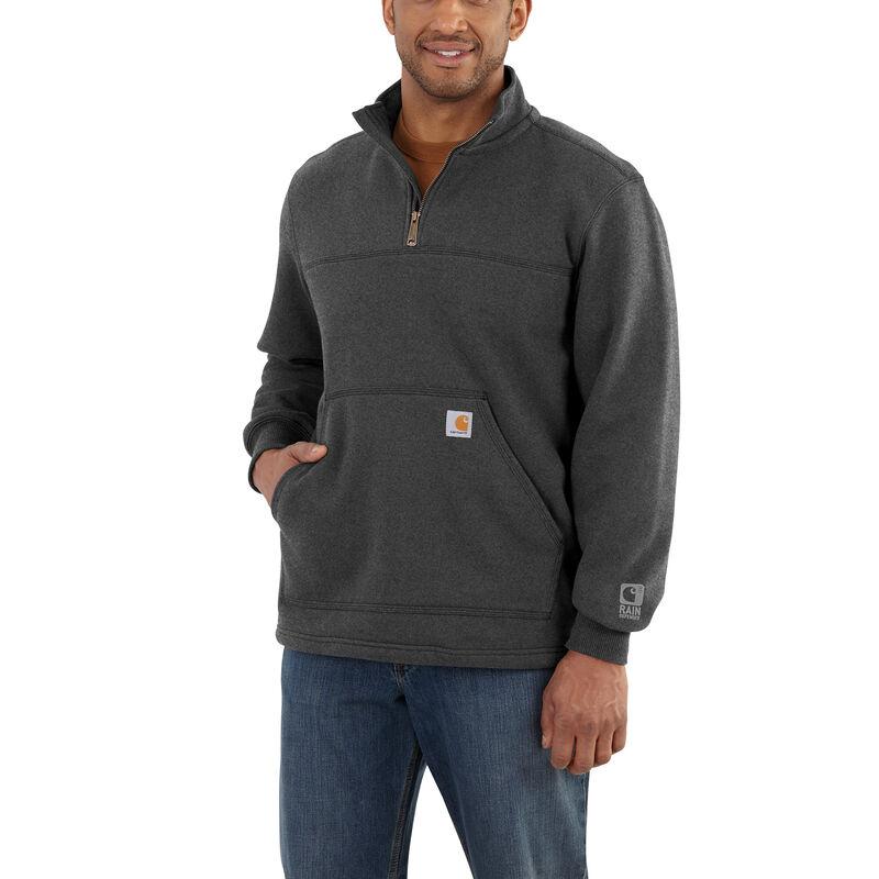 Carhartt Men's Rain Defender Paxton Heavyweight Quarter-Zip Sweatshirt image number 1