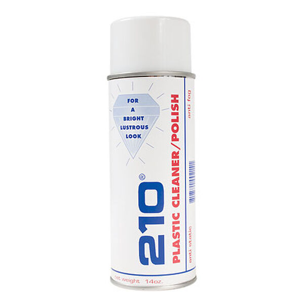 210 Plastic Cleaner/Polish, 14 oz.