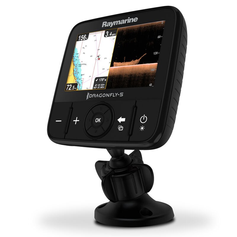 Raymarine Dragonfly 5 DVS With Dual-Channel CHIRP DownVision Sonar image number 10