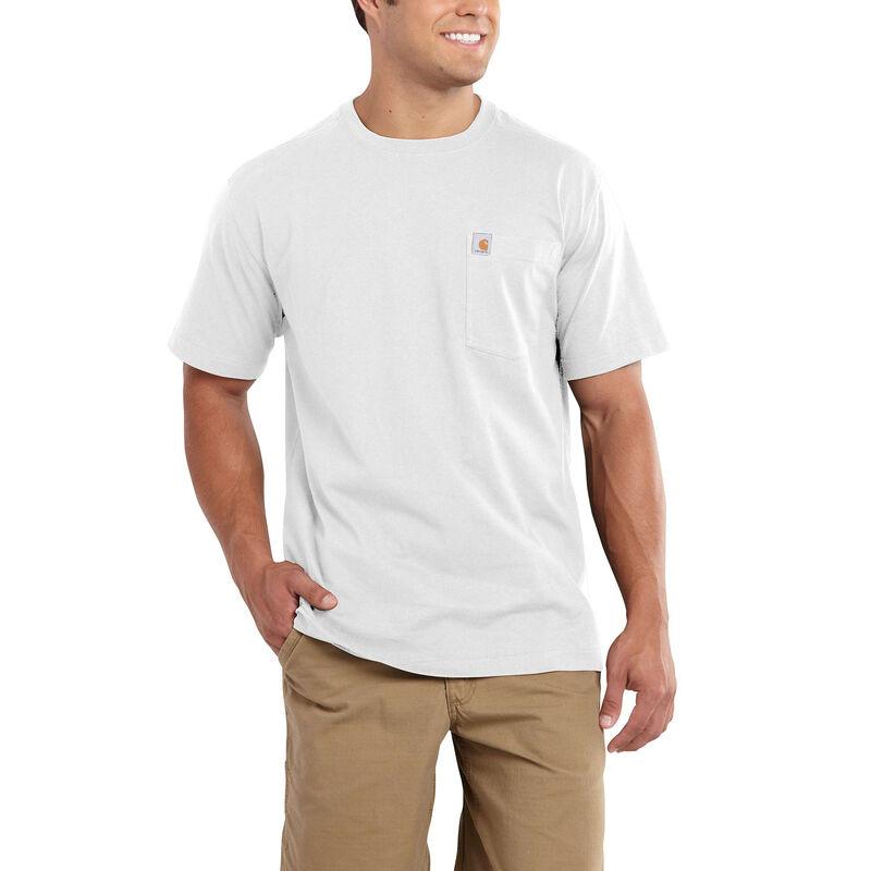 Carhartt Men's Maddock Pocket Short-Sleeved T-Shirt image number 6