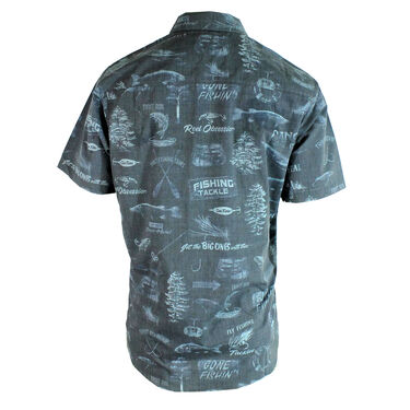 Reel Obsession Men's Boathouse Short-Sleeve Woven Shirt