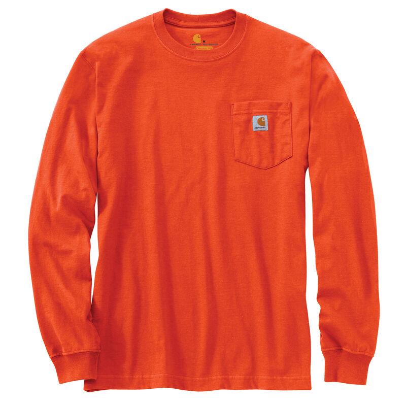 Carhartt Men's Workwear Long-Sleeve Pocket Tee image number 23