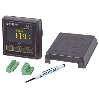 Blue Sea Systems M2 AC Voltmeter OLED Digital Monitor