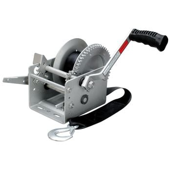 Overton's 2,500-lb. Two-Speed Brake Trailer Winch With 24' Strap