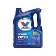 Valvoline 2-Stroke Outboard Marine Engine Oil, 1 Gallon