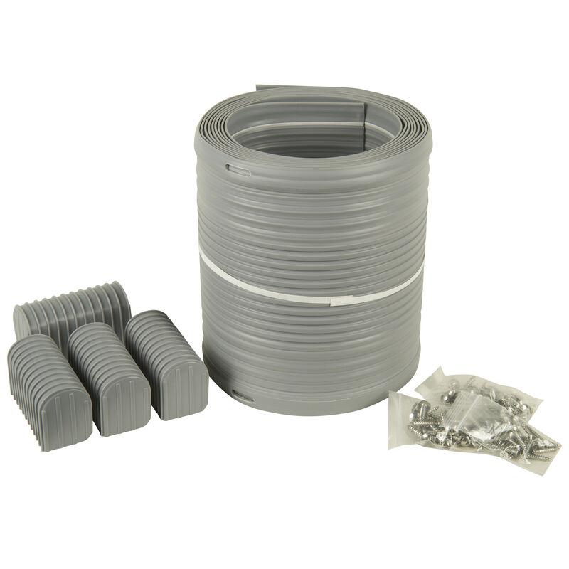 """Caliber 16' Bunk Wrap Kit For 2"""" x 6"""" Bunks, Light Gray image number 1"""