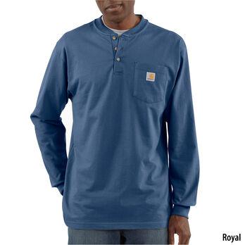 Carhartt Men's Workwear Long-Sleeve Henley
