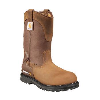 Carhartt Core 11-Inch Men's Bison Brown Waterproof Wellington Boot