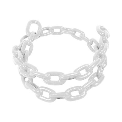 Greenfield PVC Coated Anchor Chain, White