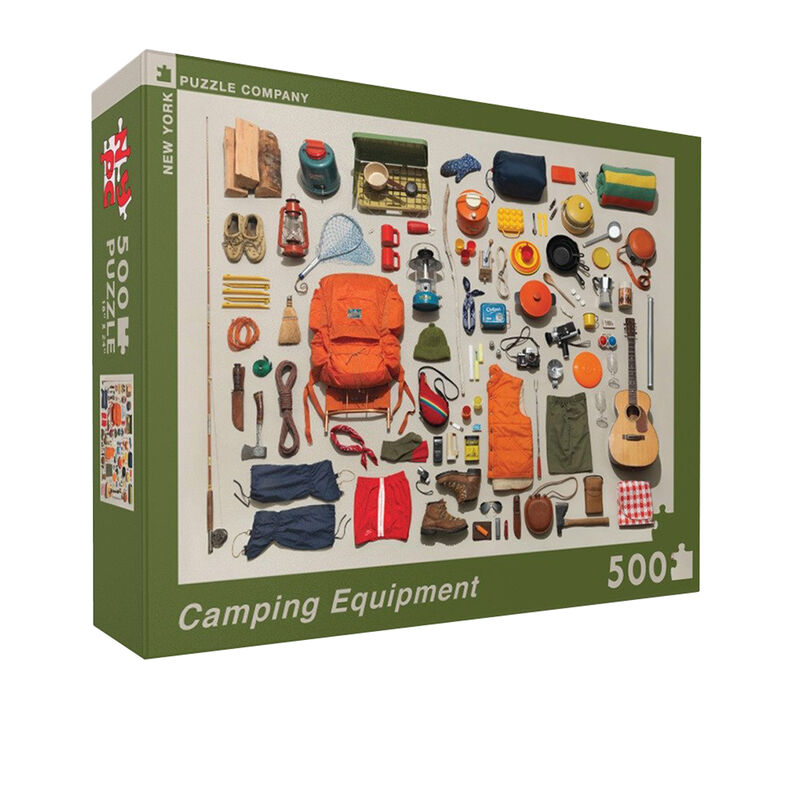 Camping Equipment 500-Pc. Jigsaw Puzzle image number 1