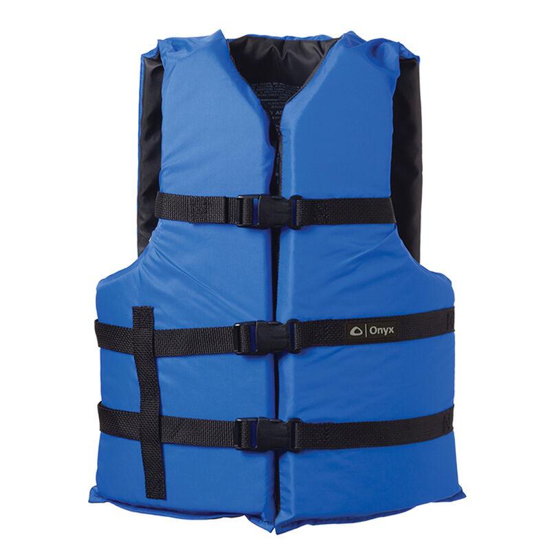 Overton's Ripstop Adult 4-Buckle Boating Vest image number 1