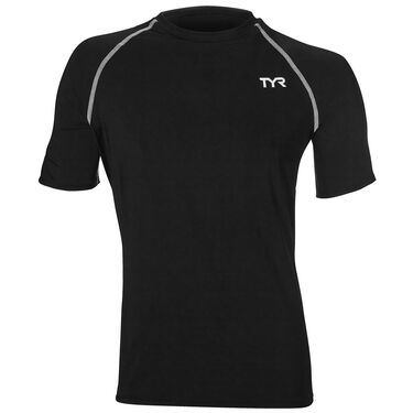TYR Men's Short-Sleeve Rashguard
