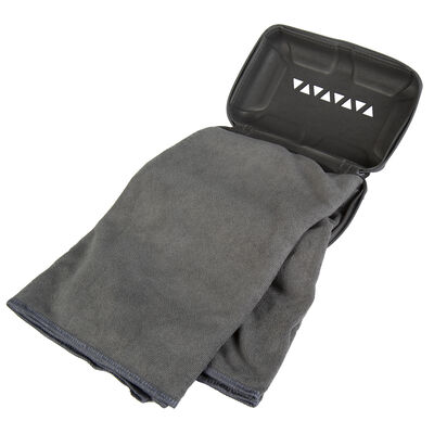 Rock Creek Gray Microfiber Pro Camp Towel, Large