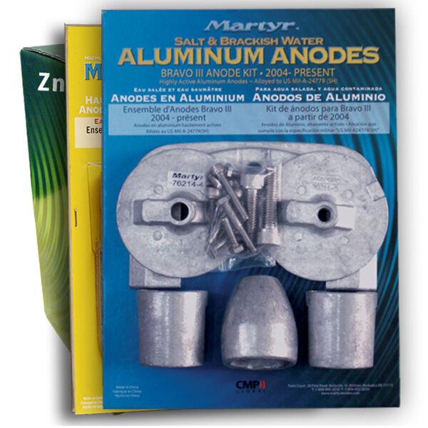 CMP Martyr Aluminum Anode Kit For Mercury Bravo III Engine