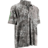 Huk Men's Kryptek Icon Short-Sleeve Polo