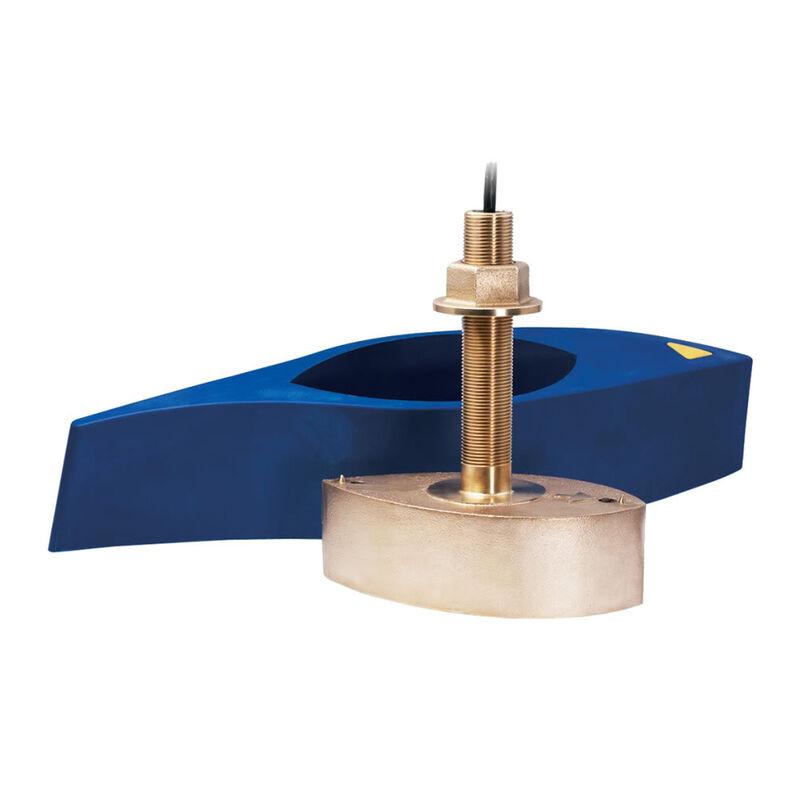 Furuno B265LH Bronze Thru-Hull CHIRP Transducer image number 1