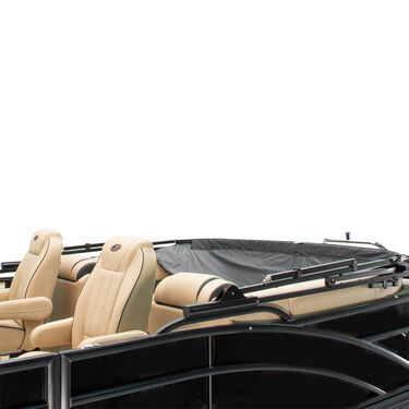 SureShade Power Automatic Bimini Top For Pontoon And Deck Boats w/Black Aluminum Frame