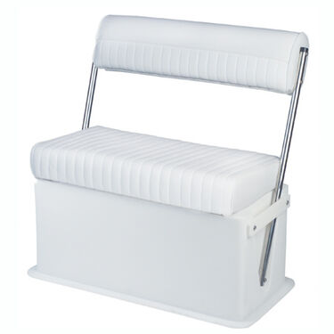 Wise Swingback Seat With Cooler/Livewell