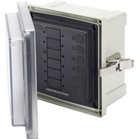 Blue Sea Systems SMS Surface-Mount System Panel Enclosure, 6 Circuit Blank