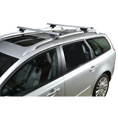 """Malone AirFlow2 Roof Rack with Aero Crossbars for Raised, Factory Side Rails, 50"""""""