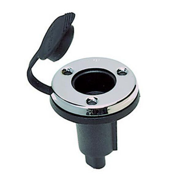 "Perko Universal Plug-In Type Base For Boat Pole Light, 2-1/4"" dia."