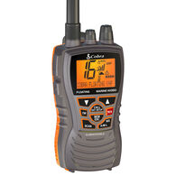 Cobra MR HH350 FLT Floating Handheld VHF Radio, Black