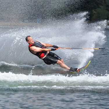 Connelly HP Slalom Waterski With Double Nova Bindings