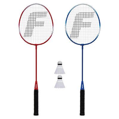 Franklin Sports 2-Player Steel Badminton Racquet Set