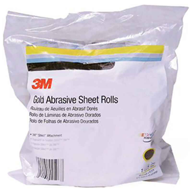 3M Stikit Gold Sheet Roll, Grade P400A image number 1