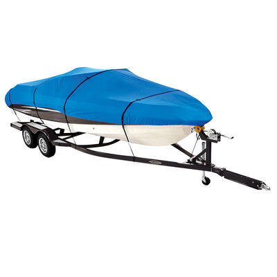"""Covermate Imperial Pro Euro-Style V-Hull I/O Boat Cover, 18'5"""" max. length"""