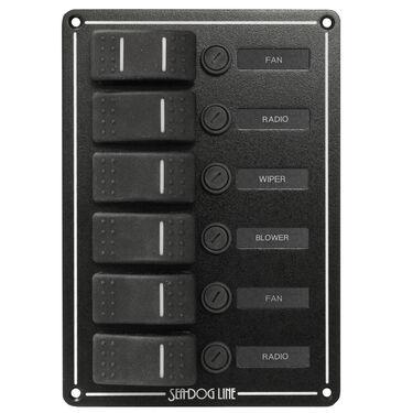 Sea-Dog 6 Rocker Switch Panel
