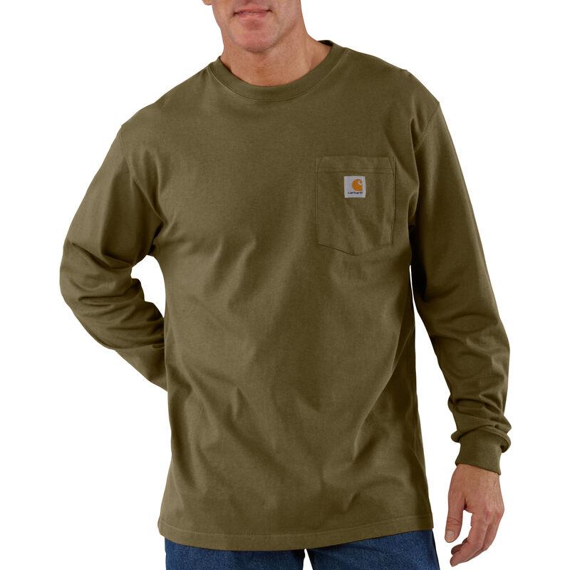 Carhartt Men's Workwear Long-Sleeve Pocket Tee image number 18