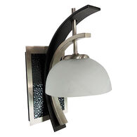 Willow Series White Wall Mount Interior Light w/Switch