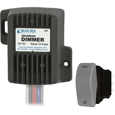 Blue Sea Systems DeckHand Dimmer, 12V DC 12A