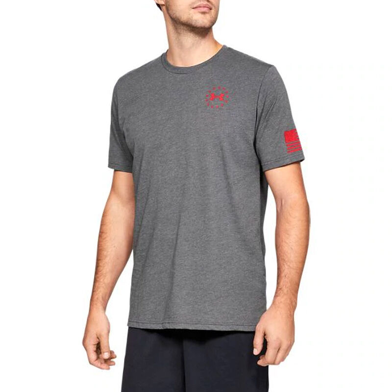 Under Armour Freedom Flag Men's Tactical Graphic Tee image number 2