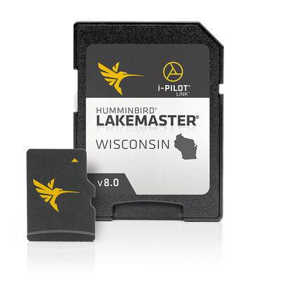 Humminbird LakeMaster Mapping & Cartography, Wisconsin, Version 8.0